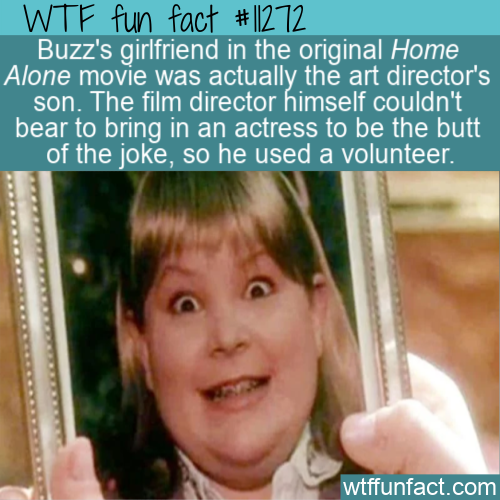 WTF Fun Fact - Buzz's Girlfriend In Home Alone