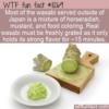 WTF Fun Fact – Fake Wasabi