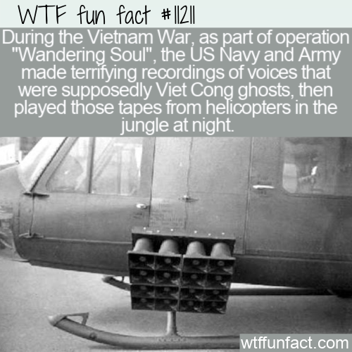 WTF Fun Fact - Ghost Tapes For War