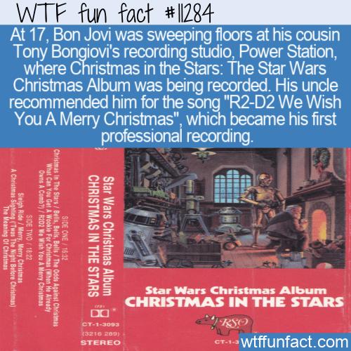 WTF Fun Fact - John Bongiovi Christmas In The Stars