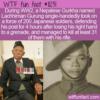 WTF Fun Fact – Lachhiman Gurung