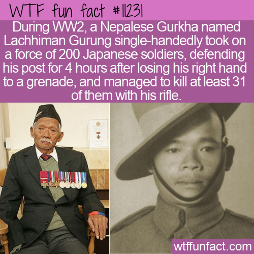 WTF Fun Fact - Lachhiman Gurung