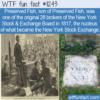 WTF Fun Fact – Preserved Fish