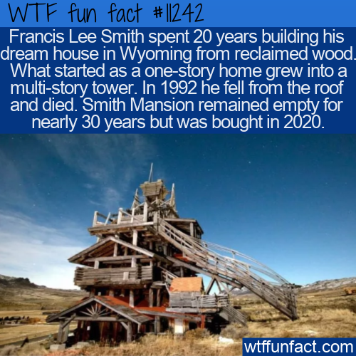 WTF Fun Fact - Smith Mansion