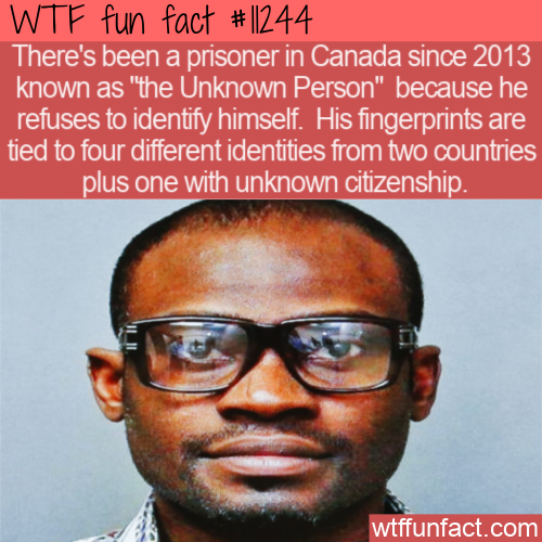 WTF Fun Fact - The Unknown Person